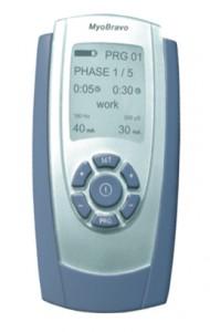 MyoBravo - profesionalus TENS ir EMS fizioterapinis aparatas.